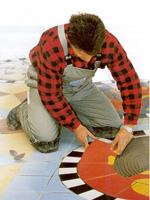 Fliesen und Mosaikarbeiten